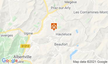 Karte Les Saisies Studio 2694