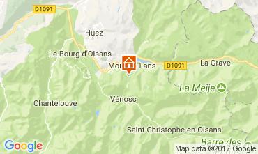 Karte Les 2 Alpes Appartement 38794