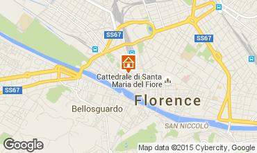 Karte Florenz Studio 95233