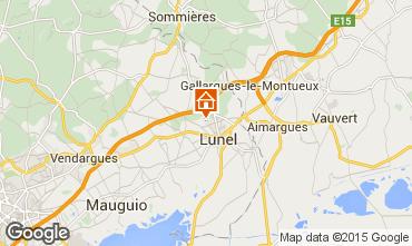 Karte Lunel Villa 99479