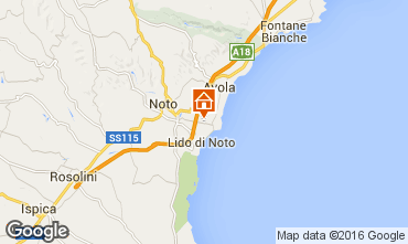 Karte Noto Villa 101088
