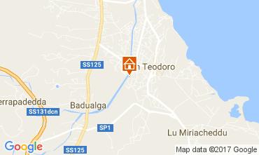 Karte San Teodoro Villa 109590