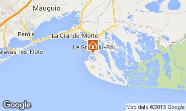 Karte Port Camargue Studio 98176