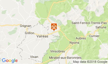 Karte Nyons Haus 113451