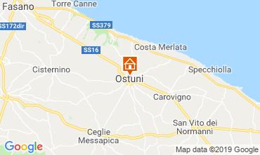Karte Ostuni Villa 118211