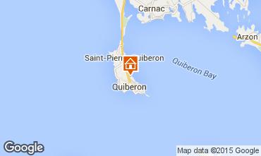 Karte Quiberon Appartement 28770
