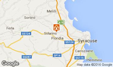 Karte Syrakus Appartement 102820