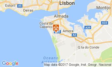 Karte Lissabon Villa 65732