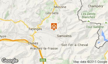 Karte Morillon Grand Massif Appartement 96789