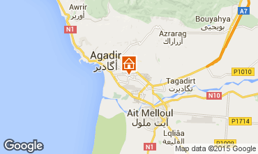 Karte Agadir Appartement 22477