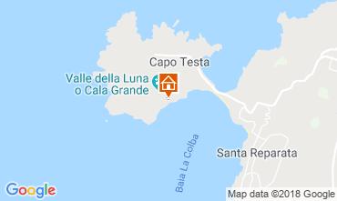 Karte Santa Teresa di Gallura Villa 90063