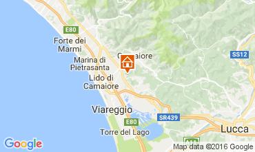 Karte Camaiore Villa 107103