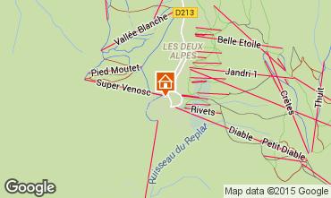 Karte Les 2 Alpes Appartement 82308