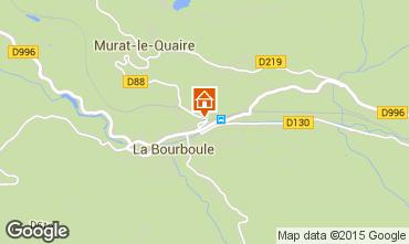 Karte La Bourboule Ferienunterkunft auf dem Land 57606