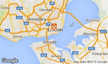 Karte Lissabon Appartement 37349