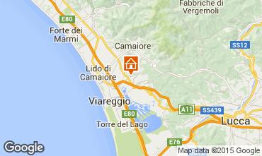 Karte Viareggio Appartement 70889