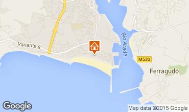 Karte Praia da Rocha Appartement 73354
