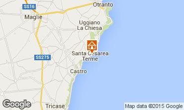 Karte Santa Cesarea Terme Studio 98187