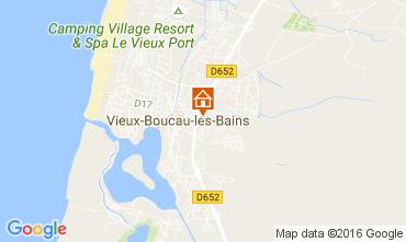 Karte Vieux Boucau Studio 107358