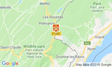 Karte Les Rousses Studio 117592