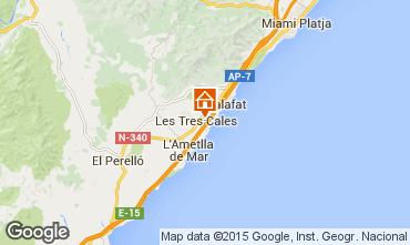 Karte La Ametlla de Mar Villa 60101