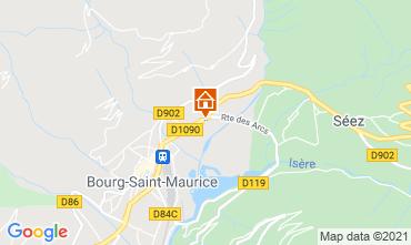 Karte Les Arcs Studio 129