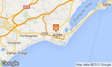 Karte Agde Studio 97786