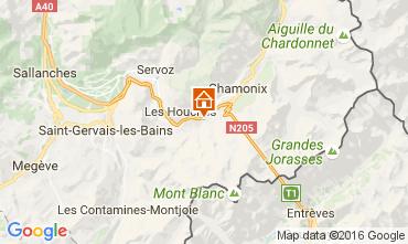 Karte Chamonix Mont-Blanc Chalet 106440