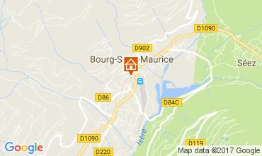 Karte Bourg Saint Maurice Studio 111638