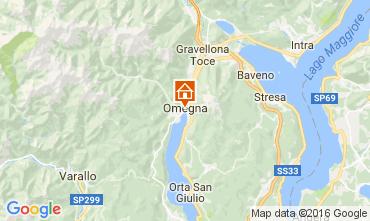 Karte Orta San Giulio Appartement 106597
