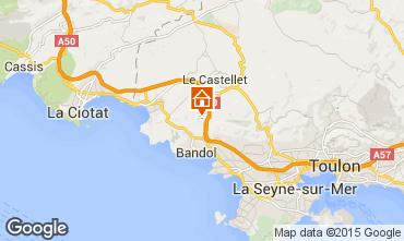 Karte La Cadière d'Azur Villa 94916