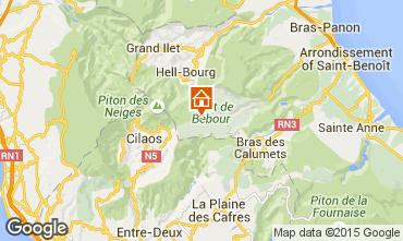 Karte La Saline les Bains Studio 97960