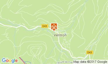 Karte Ventron Appartement 4681