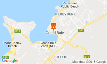 Karte Grand Baie Appartement 55261