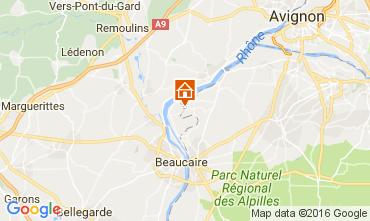 Karte Avignon Ferienunterkunft auf dem Land 101978