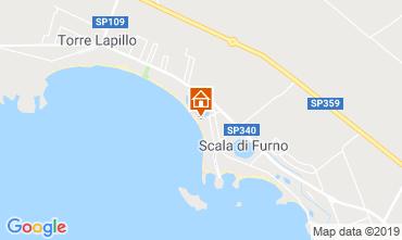 Karte Porto Cesareo Appartement 116787
