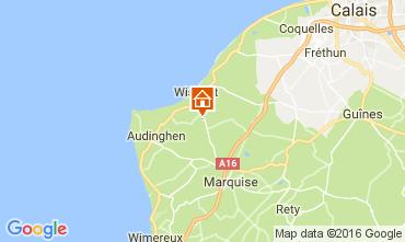 Karte Wissant Haus 103820