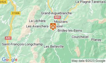 Karte Les Menuires Appartement 42285