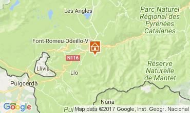 Karte Font Romeu Chalet 59119