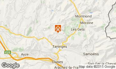 Karte Praz de Lys Sommand Chalet 66149