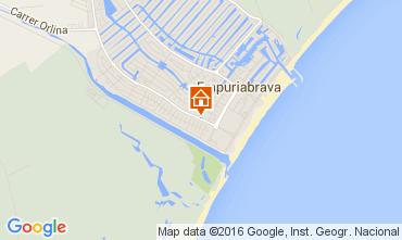 Karte Empuriabrava Villa 94506