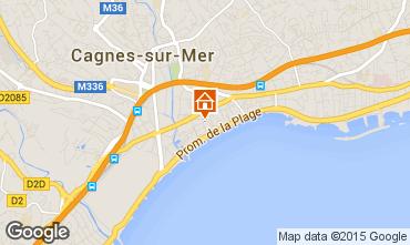 Karte Cagnes sur Mer Studio 97503