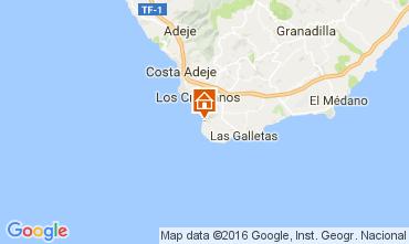 Karte Los Cristianos Appartement 103218