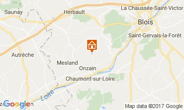 Karte Blois Mobil-Home 110291