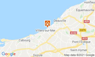 Karte Villers sur Mer Appartement 78984