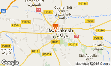 Karte Marrakesch Appartement 38842