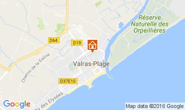 Karte Valras-Plage Mobil-Home 106632