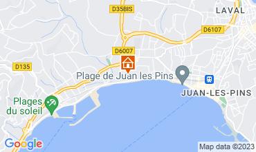 Karte Juan les Pins Appartement 76269