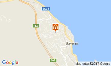 Karte Baveno Appartement 112766