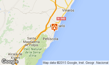 Karte Peñíscola Appartement 76968